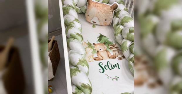 En Güzel Bebek Yatak Koruma Modelleri İçin Tuğba Kuğu!