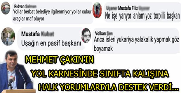Sizleri Belediye Başkanı Mehmet Çakın' ın Yol Karnesini Paylaştığımız Haberimiz Ve Uşak Halkının Yorumlarıyla Baş Başa Bırakıyoruz!
