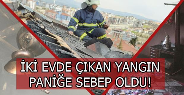 Atatürk Mahallesinde ve Bozkuş'ta Yangın Çıktı, İki Binada da Maddi Hasar Oluştu!