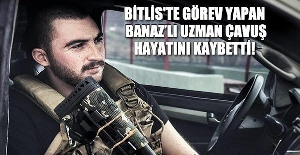 Bitlis'ten Üzücü Haber Banaz'lı Uzman Çavuş Silah kazasında hayatını kaybetti!