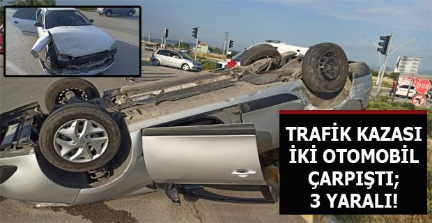 Çevre Yolu Üzerinde Trafik Kazası Meydana Geldi