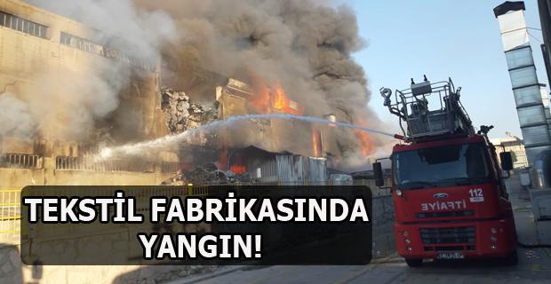 Karma Organize Sanayi Bölgesi' nde Yangın Çıktı!