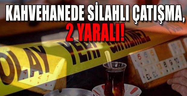 Silahlar bu sefer Banaz'da patladı!