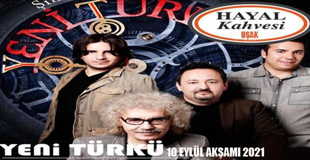 Yeni Türkü Uşak Hayal Kahvesinde, Uşak'lılarla Buluşuyor.