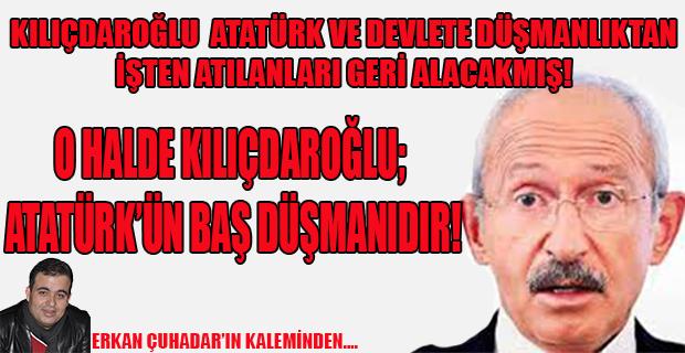 PYD HDP derken Kılıçdaroğlu bu sefer de FETÖ'cülerin hamiliğine soyundu.