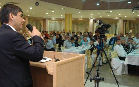 Ak Parti Milletvekili Adayı Hazim Sesli Servis İşletmecileriyle Buluştu