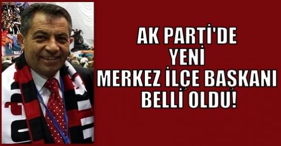 Ak Parti'de Merkez İlçe Başkanı Mehmet Aslan Oldu!