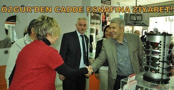 Alpay Özgür İsmet Paşa Caddesi Esnafını Ziyaret Etti!
