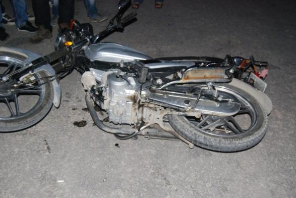 Motosiklet Kazasında 1 Kişi Yaralandı