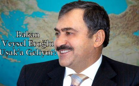Bakan Veysel Eroğlu 37 Müjde İle Uşak'a Geliyor!