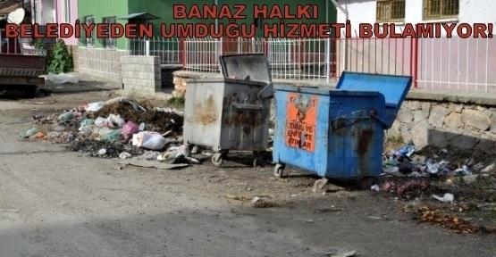 Banaz'ın Ara Sokakları, Belediye'den İlgi Bekliyor!