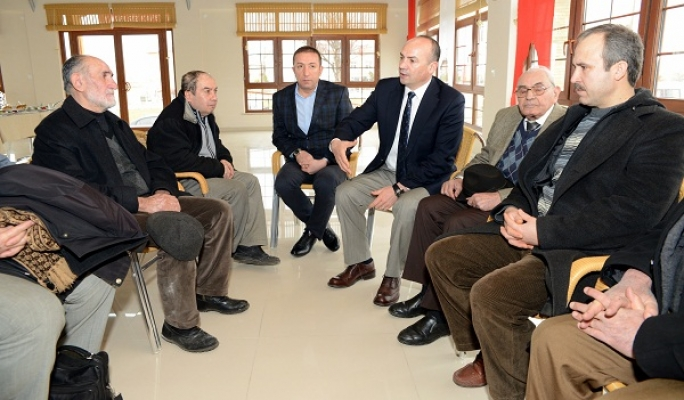Belediye Başkanı Ali Erdoğan Muhtarlar ile Buluştu!