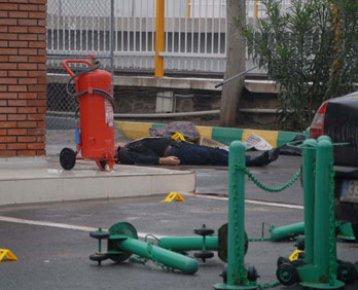 Bayraklı da Benzinlik Silahlı Baskın, Osman Türkkan Mutlu Yaralandı, Sefa Erol Öldü,