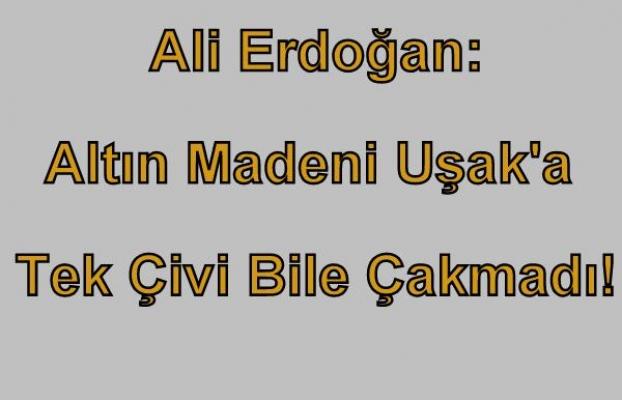 Belediye Başkanı Ali Erdoğan'dan Mecliste TÜPRAG'a Salvo!