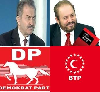 BTP İle Demokrat Parti Seçim İttifakı Yaptı.. Milli Mutabakat İttifakı..Video Haber