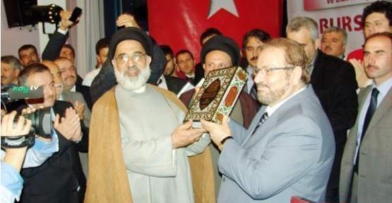 Bursa'da 7. Ehl-i Beyt Sempozyumunda Konuşan Prof. Dr. Haydar Baş Salonu Coşturdu.