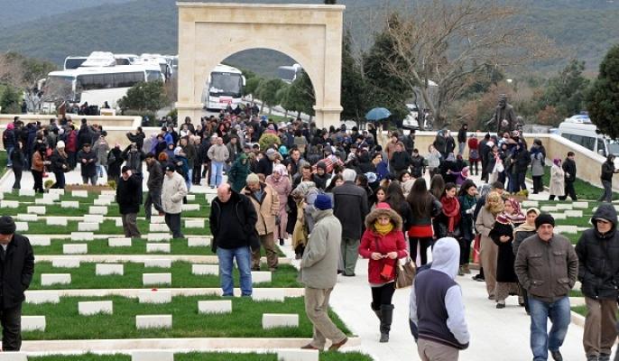 Uşak'tan 2 Bin Kişinin Katıldığı Çanakkale Gezisi Düzenlendi