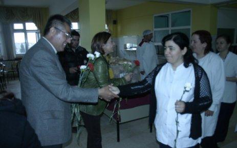 CHP Milletvekili Adayları Hastaneyi Ziyaret Etti..