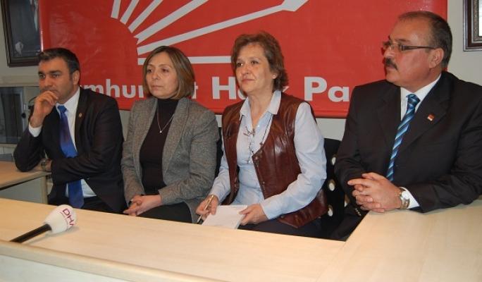 CHP Milletvekilleri Birgül Ayman Güler ve Müslim Sarı Uşak'a Geldi