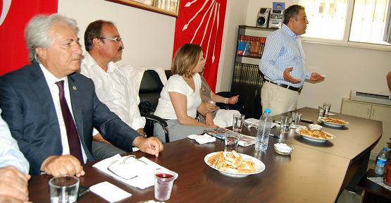 CHP Milletvekilleri Uşak'ta Yerel Seçim Startı Verdi