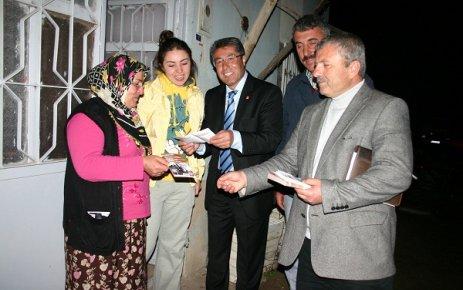 CHP Seçim Çalışmaları İçin Muharremşah Köyündeydi