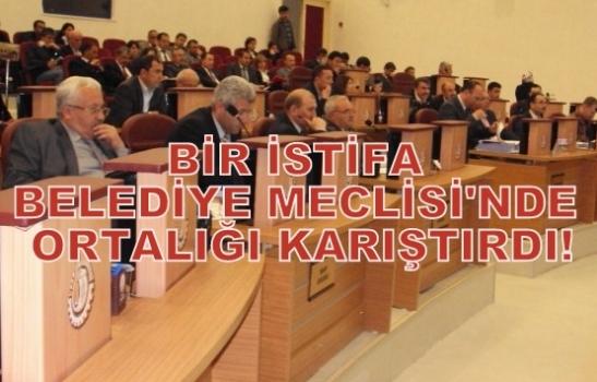 CHP'li Üyenin İstifası Belediye Meclisini Karıştırdı ve Meclis Toplanamadı