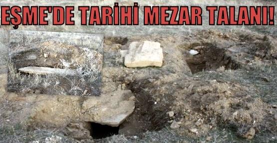 Tarihi Mezarlar, Define Avcılarının Talanına Uğradı!
