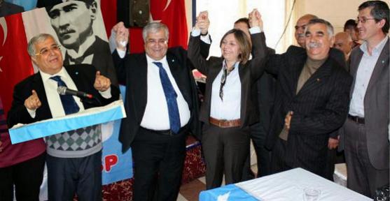 DSP Genel Başkanı Masum Türker Uşak'ta İktidara Yüklendi!