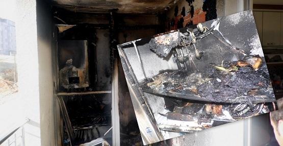 Elektrik Kontağından Çıkan Yangın Büyümeden Söndürüldü!