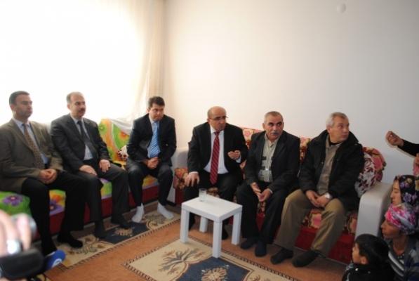 Emniyet Müdürü Demirtaş'tan Kapısız Ailesine Taziye Ziyareti