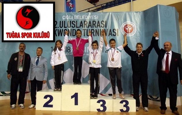 Eşme Tuğraspor Uluslararası Turnuvada Altın Madalya Kazandı!