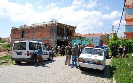 Eşme'de İnşaattan Düşen İşçi Turgay Sayıner Öldü