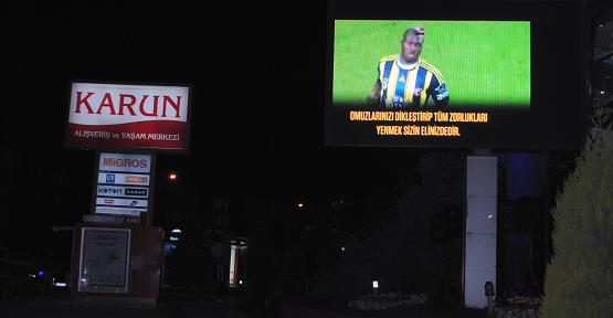 Fenerbahçe'nin Final Coşkusu Uşak'ta Dev Ekranda İzlenecek!