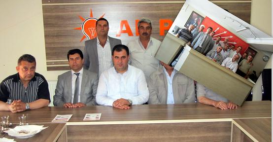 Uşak Alevi Kültür Derneğinden Ak Parti ve CHP'ye Ziyaret!