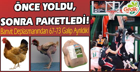 Gedik Omuz Verdi, Muratbey Uşak Sportif Banvit'i Devirdi!