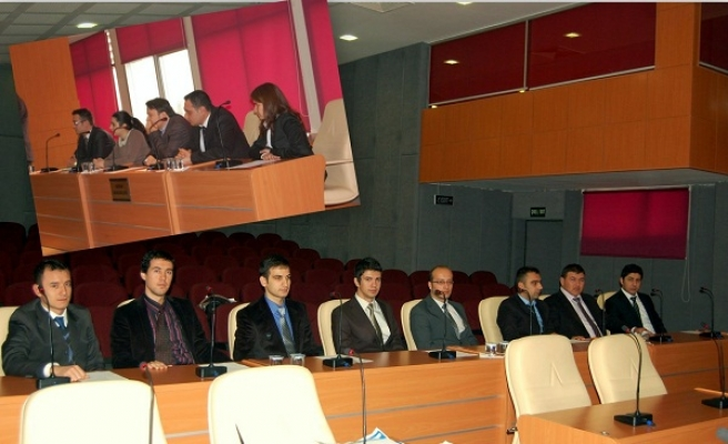 İl Özel İdare'de Göreve Yeni Başlayan Genç Memurlar İl Genel Meclisini Ziyaret Etti!