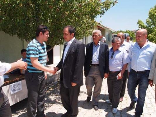 İsmail Güneş, Çınarcık Köyü'nü Ziyaret Etti!