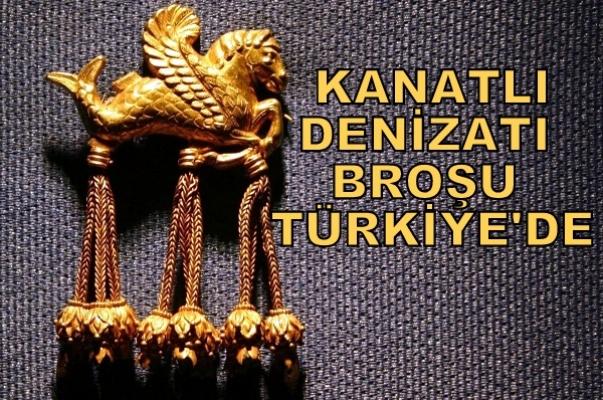 Kanatlı Denizatı Broşu Türkiye'ye İade Edildi!