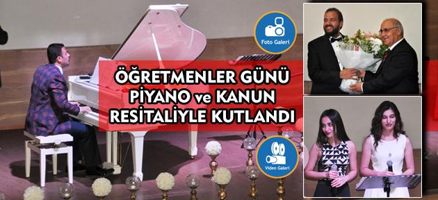 Erman Karakaya yine Kanyon kolejinde bu kez Öğretmenler için sahne aldı