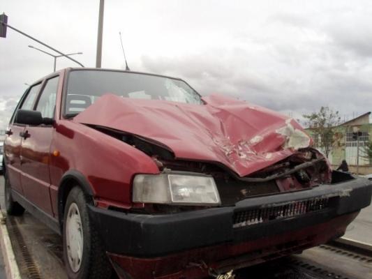 Kipa Kavşağı'nda Kaza! 2 Yaralı