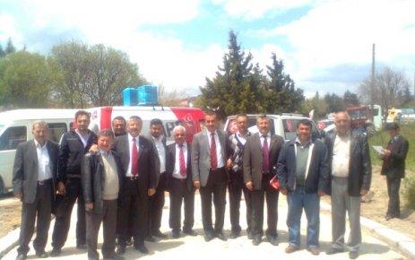 Metin Deniz Savaş Hacım Sultan'da Dua Etti