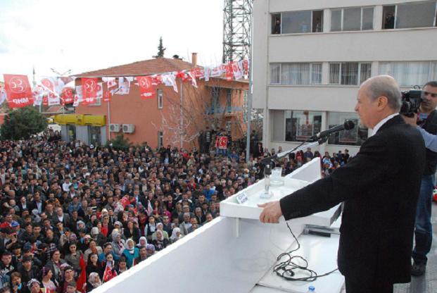 MHP Genel Başkanı Devlet Bahçeli Uşak ta Omurca Beldesinde Çok Sert Konuştu.