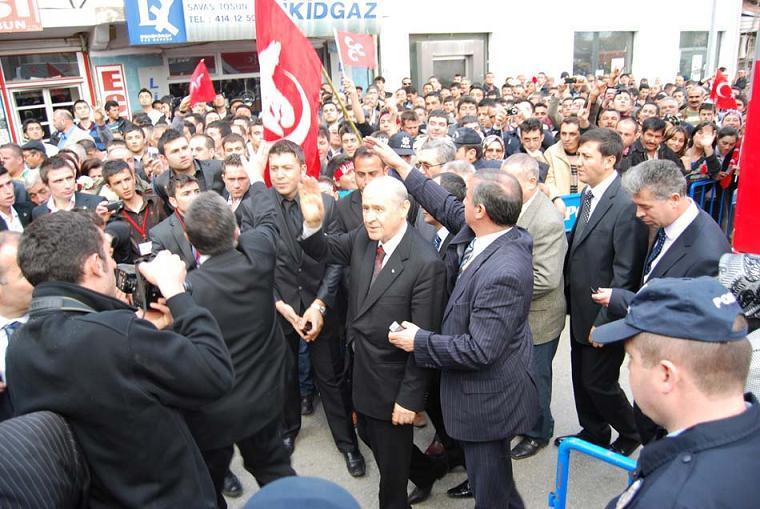 MHP Genel Başkanı Devlet Bahçeli Uşak ta Ulubey ve Eşme yi Ziyaret Etti.