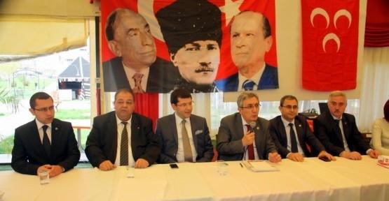 MHP Genel Merkez Heyeti Uşak'ta Çözüm Sürecini Eleştirdi!