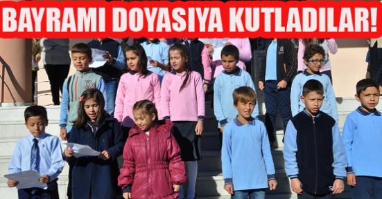 Minicik Yüreklerindeki Kocaman Atatürk ve Cumhuriyet Sevgisini Böyle Anlattılar!