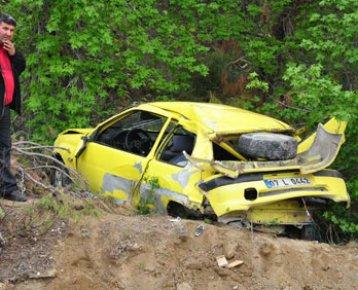 MUĞLA Datça da Trafik Kazası.Kazada Serkan Gönen Öldü
