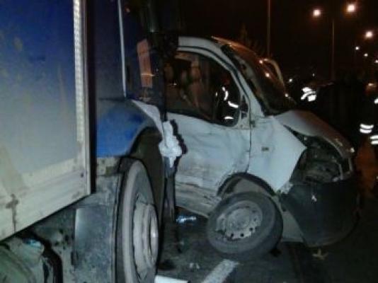 Otomobil Kamyonla Çarpıştı: 1 Ölü, 1 Yaralı!