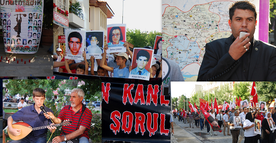 Sivas Olaylarının 20. Yıldönümü Uşak'ta Anıldı!