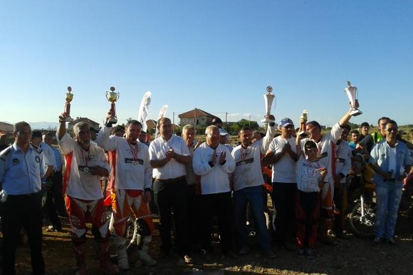 Sivaslı'da Off-Road Yarışları Nefes Kesti