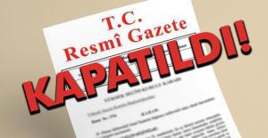 Devletin gazetesi olan Resmi Gazete kapatıldı!